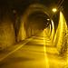 im längsten Radtunnel Deutschland, knapp 1,2 km. lang