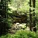 Hier steht unterhalb der Mauer der Rocher du Wachstein, ein natürlicher Wachturm, der über einen Stich mit der Heidenmauer verbunden ist.