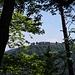 Von hier aus hat man eine tolle Aussicht auf das Kloster.