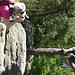 Fotoshooting (hoffentlich fällt der gute Marcel nicht vom Baum...)