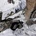 Zurück im angenehm-steilen Abstieg zur Winterlücke.