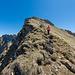 Im Abstieg vom Tomlishorn