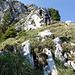 Aufstieg in die Brenner Route