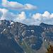 der Grat vom Schafwisspitz über die Stöllen zum Lütispitz ist praktisch wieder schneefrei
