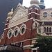 Belfast: Der ursprüngliche Trakt des Opernhauses, wie das benachbarte Hotel Europa mehrfach Ziel von Bombenanschlägen