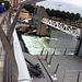 Belfast: Fussgängerbrücke und Wehr, das den Lauf des Lagan reguliert