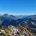 noch ein letzter Blick zum Alpstein, vor dem Abstieg.