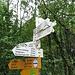 Bei Käppeleberg ist die Grenze zwischen Deutschland und der Schweiz erreicht.