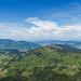 Blick zum Ägerisee (Bildmitte)