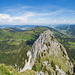 Panorama vom Kleinen Mythen aus zum Haggenspitz