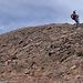 Kurz vor dem Gipfel des Engelberger Rotstockes, ein riesiger Schutthaufen ;-)