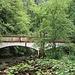 Brücke ober halb der Chute de la Verrière