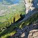 Rechts ist bereits der Wyss Nollen zu sehen. Im Hintergrund Schwyz.
