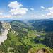 Panorama zum Alptal mit Kleinem Mythen und Haggespitz