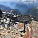A picco sulla Val Maggia.