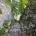 die Römerstrasse beim Oberen Hauenstein