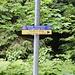 Rechts geht es weder zur Valepp noch zum Spitzingsee oder zur Freudenreichalm, sondern nach Tegernsee