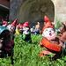 """Nel centro di Gresso una inquietante convention di nani di giardino """"liberati""""....."""