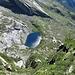 500 m più in basso il primo lago del Paione