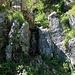 Im Abstieg vom Col d'Oberberg - die Schlüsselstelle.