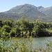 der Berg in der Mitte müsste der Monte Tamaro sein