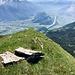 Bei diesen Steilen ist der Abstieg/Aufstieg der Chammegg-Route