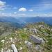 Gipfelausblick von der Marmontana