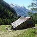 baita all'alpe della Bolla