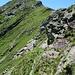 ein paar Felsen vor der Vetta del Vallone