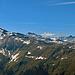 Pischahorn (2980 m) Wisshorn uns Schwarzhorn