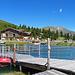 Madrisa Hof, Restaurant und See bei der Bergstation