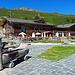 Madrisa Hof, Restaurant und See ganz in der Nähe der Bergstation