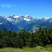 Das Schesaplanamassiv am Ende des Brandnertals. Von Bludenz bis zum GK beträgt der Höhenunterschied rund 2.400m.