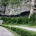 Die in Stein gemeisselte Strasse ins Isenthal.