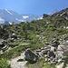 Blick zurück ins Val de L'A Neuve