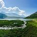 Der See von Montespluga aus
