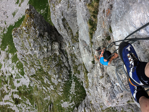 Klettersteig Zittergrat : Klettersteig f postalm u erweiterung mit