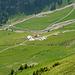 Tiefblick zur Alp Arni