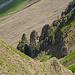 Interessante Felsformationen auf dem Weg zum Heitlistock