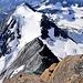 Arete de Boussine. Wohl einer der wildesten Abstiege von einem Schweizer 4000er.