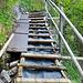 Einige Treppen helfen