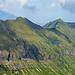 Ein Ausschnitt vom Arnigrat. Ziemlich weit links die Scharte zwischen Astelhorn und Wandelen.