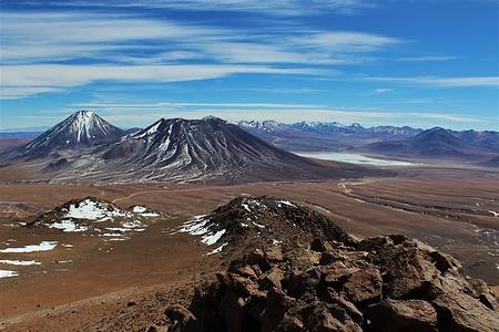 Licancabur vom Gipfel