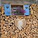 una capanna col cuore :)