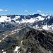 die Aussicht vom Flüela Wisshorn ist einfach super !! bis zur Bernina Gruppe