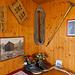 Schöne Inneneinrichtung in der Hütte