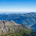 Nochmals ein Blick über die Sunnigstöck in die Zentralschweiz