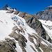 Gletscherabbruch vom Glatt Firn