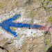 Gut markierter Alpinwanderweg zur Kröntenhütte