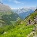 Abstieg von der Kröntenhütte auf dem Geissfad nach Bodenberg